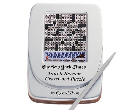 Electronic Crossword Puzzle